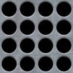 Seamless Metal Holes Texture