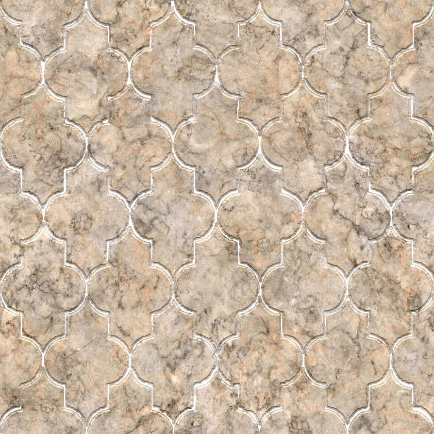 Seamless Marble Tile by hhh316