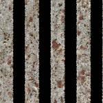 Seamless Metal Rusted Bars