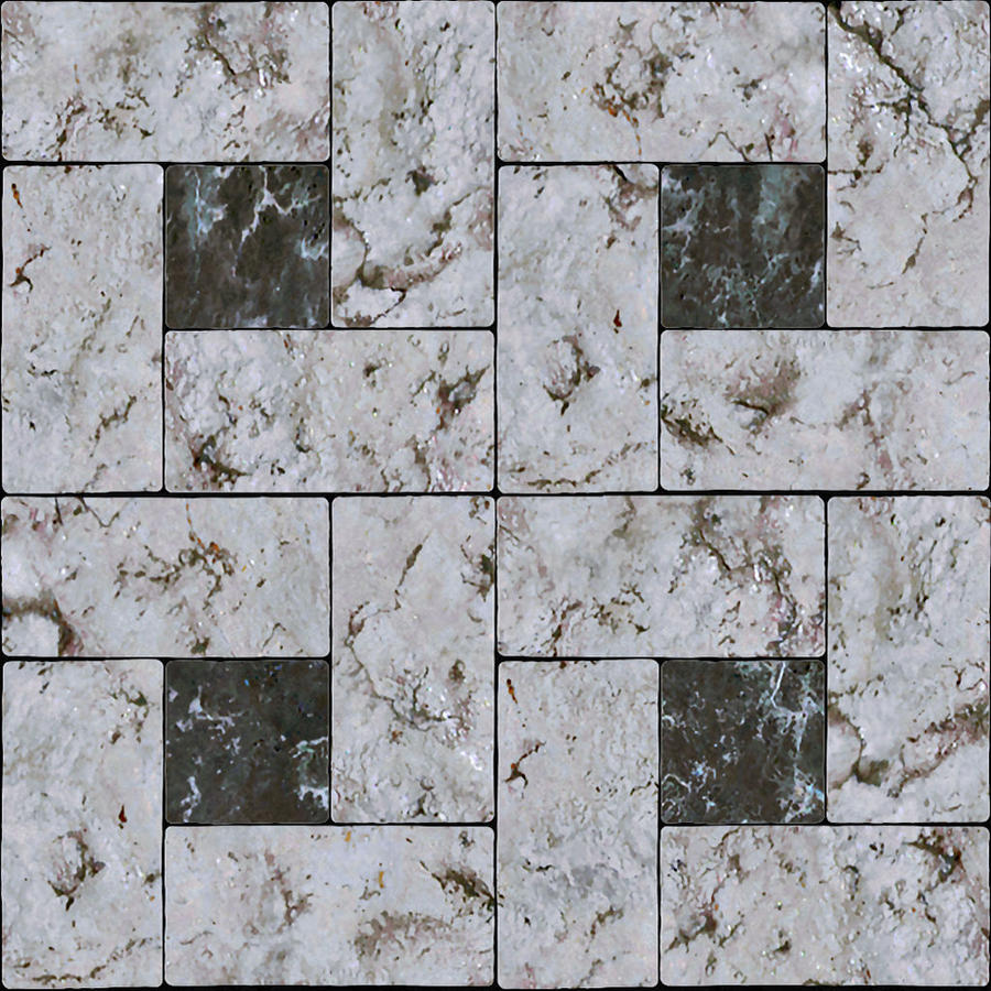 Marble tile light and dark pattern texture