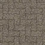 Seamless brick pavement patio texture