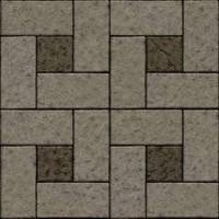 Seamless concrete stone brick tiles by hhh316