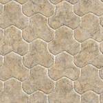 Seamless marble floor tiles