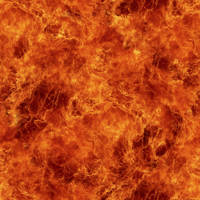 Seamless Fire Texture by hhh316