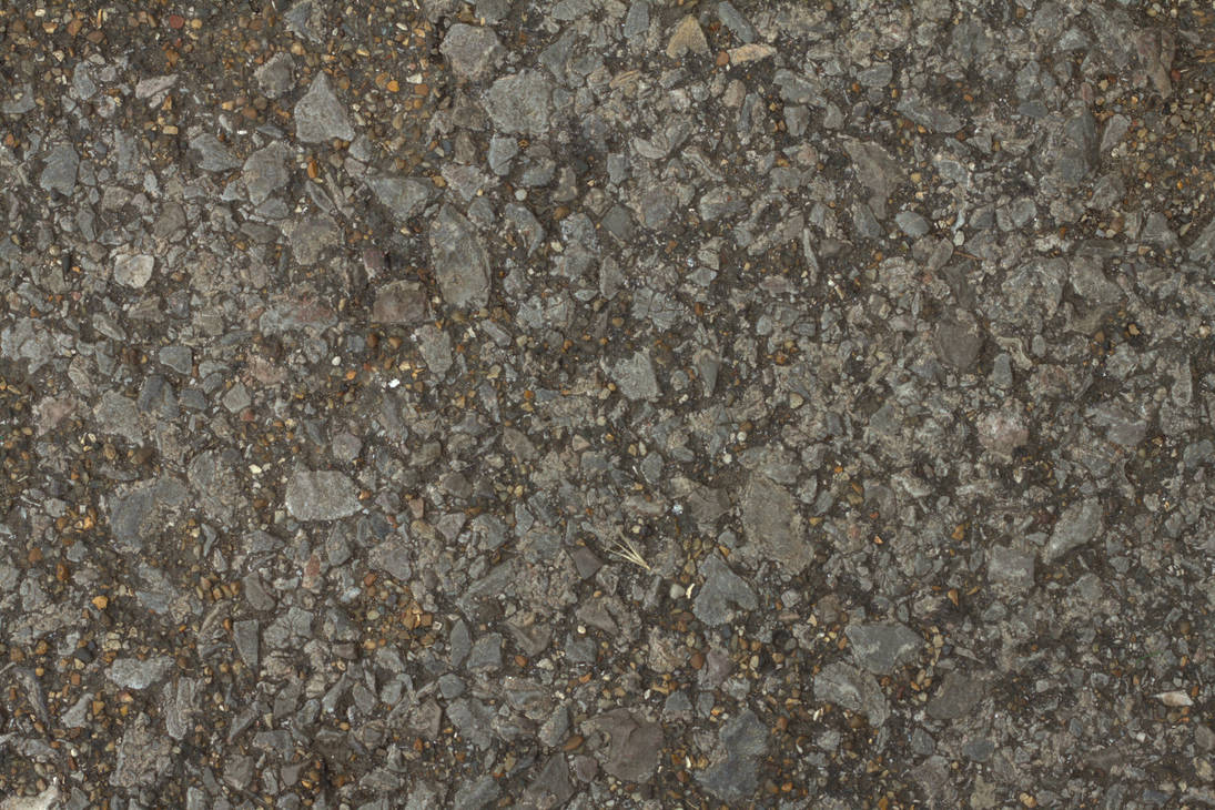 (PEBBLESTONE 3) concrete cobble ground gravel  by hhh316