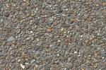 Concrete cobble stone pebble walkway texture