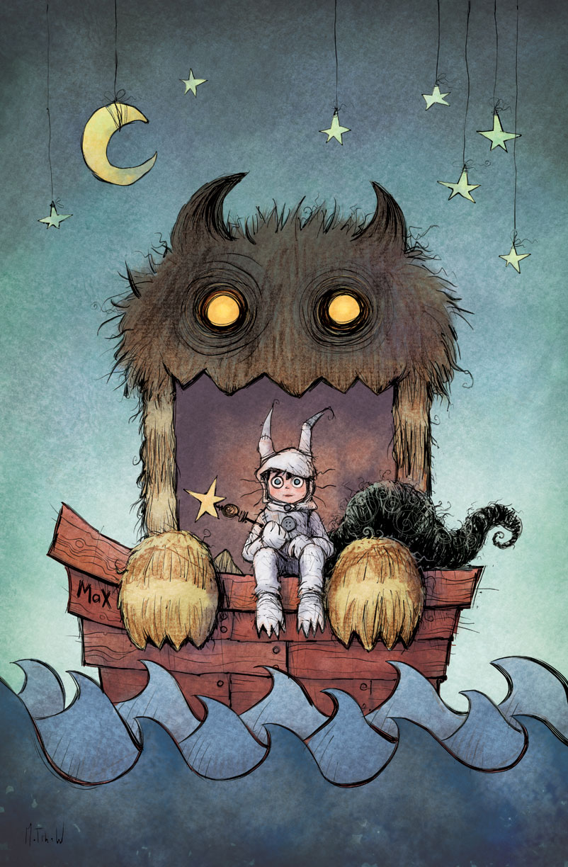 Where The Wild Things Are By Matthewart On Deviantart