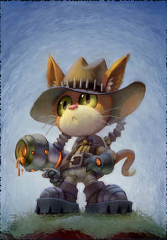 Puss in Steampunk Boots