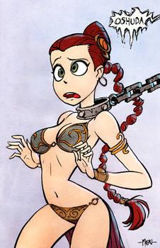 Princess 'Slave' Leia