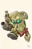 Chrono Trigger Robo by matthewart