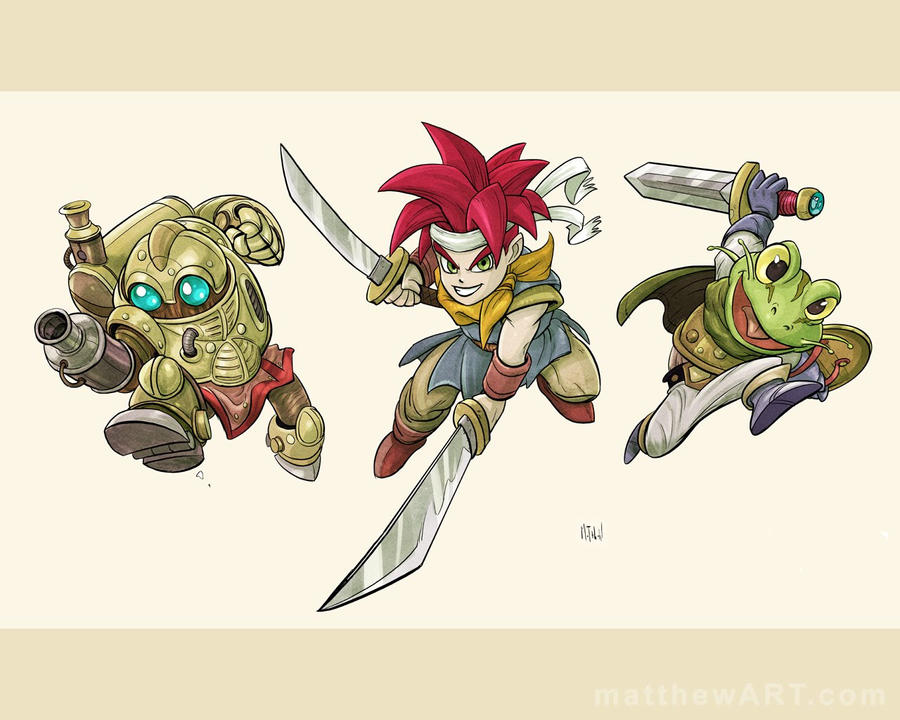 Chrono Trigger Desktop by matthewart