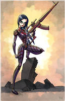 GI Joe - Cobra - The Baroness by matthewart