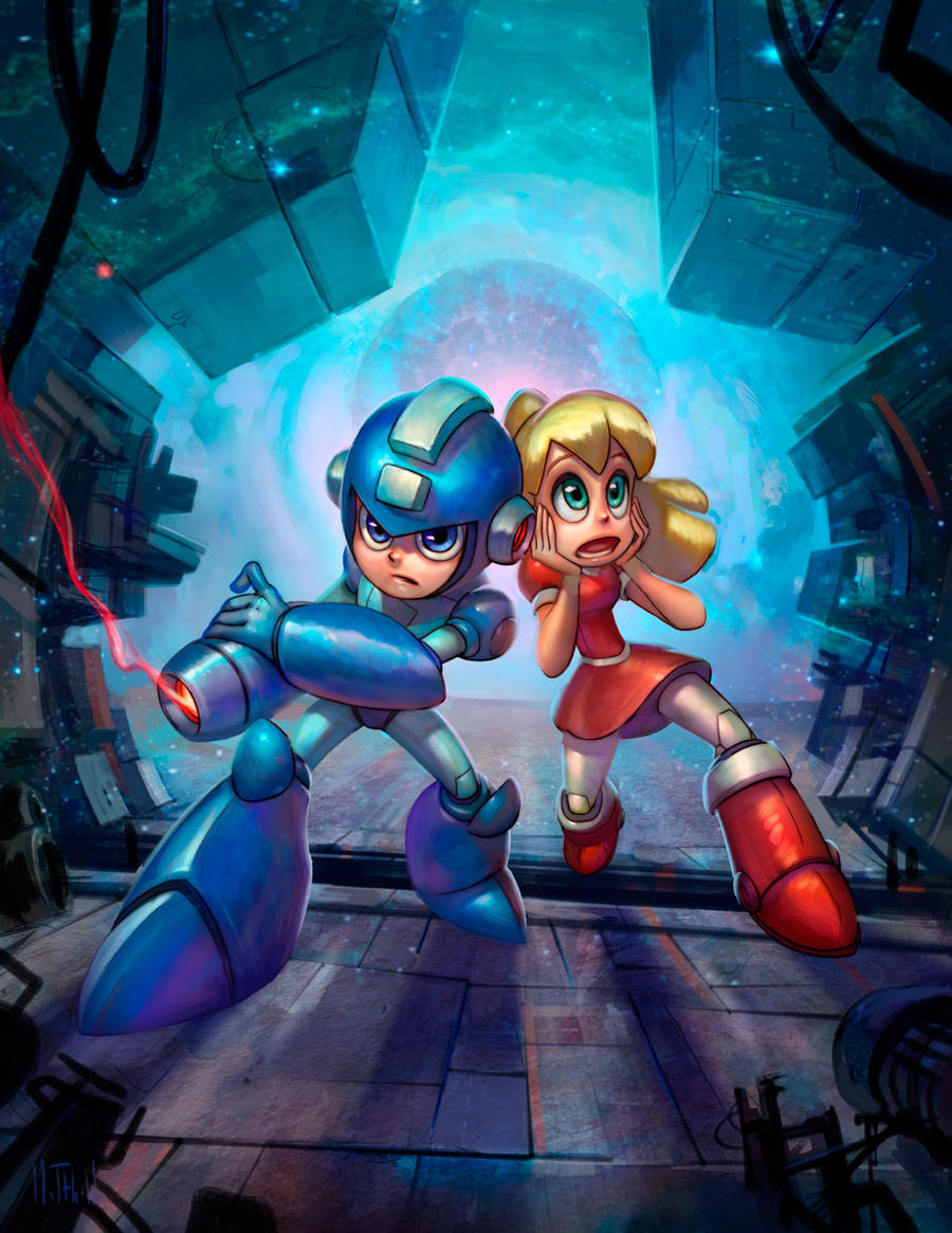 Mega Man by matthewart