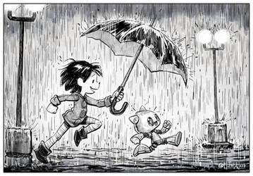 Minim 0038 Rainstorm by matthewart