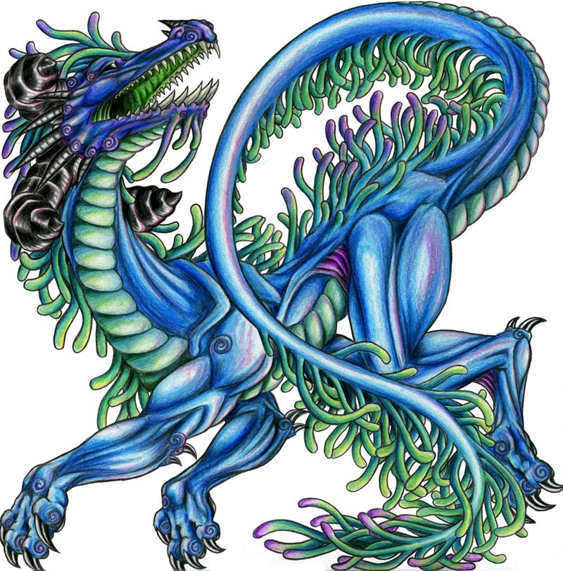 Water dragon by yektuikuto