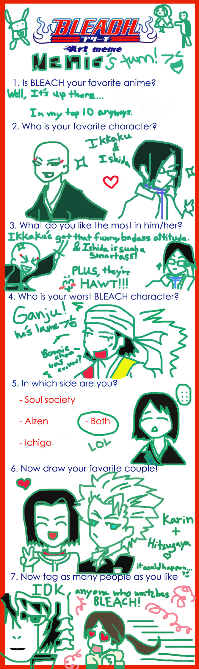 Bleach Meme Nenie's Attempt by Nenie