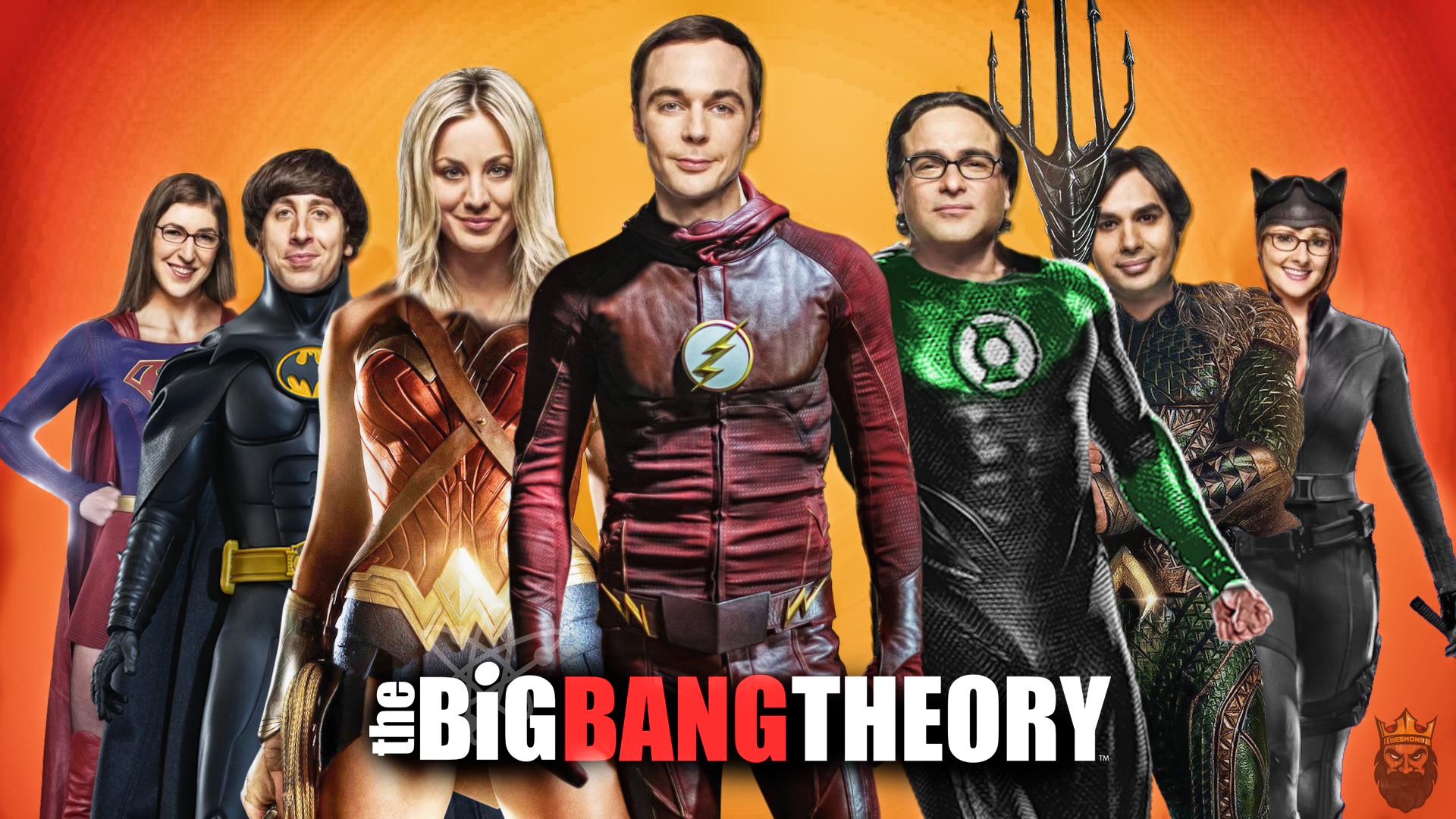 Big Bang Theory Halloween Edition