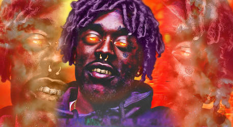 Lil Uzi Background Edit by DesmondKing