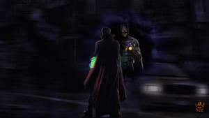 Dr Strange vs Batman