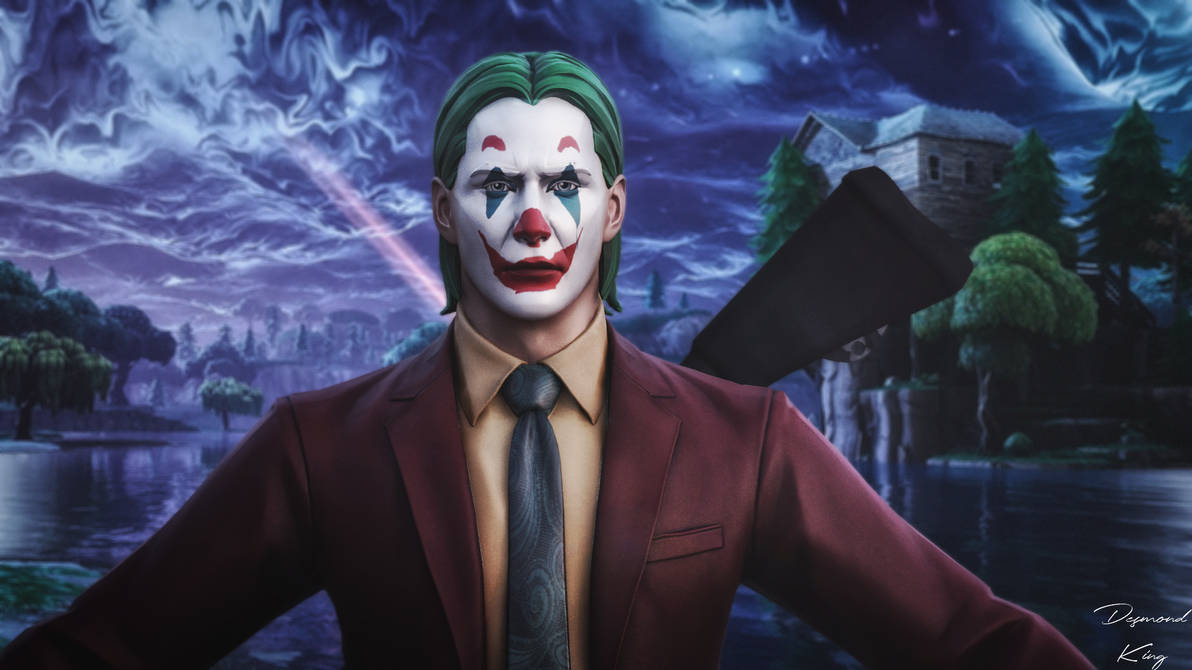 Joker In Fortnite By Desmondking On Deviantart We have high quality images available of this skin on our site. joker in fortnite by desmondking on