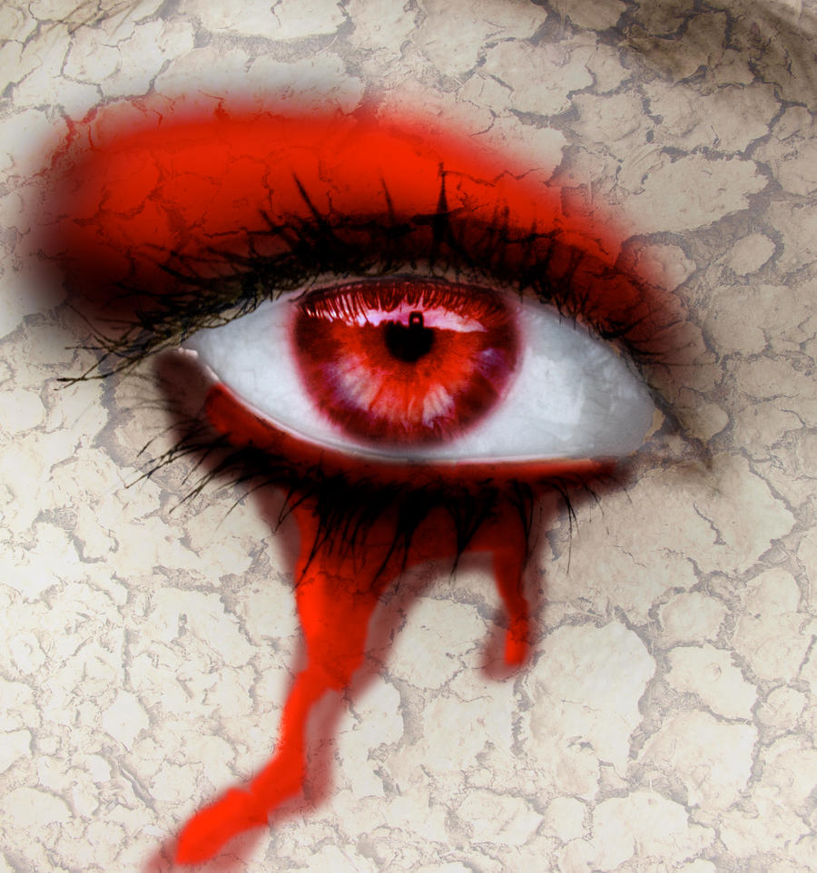 Кровь из глаз на аву