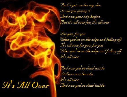 Three Days Grace-Its all over by Zukofan11
