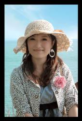 Cute Asian Girl by uut