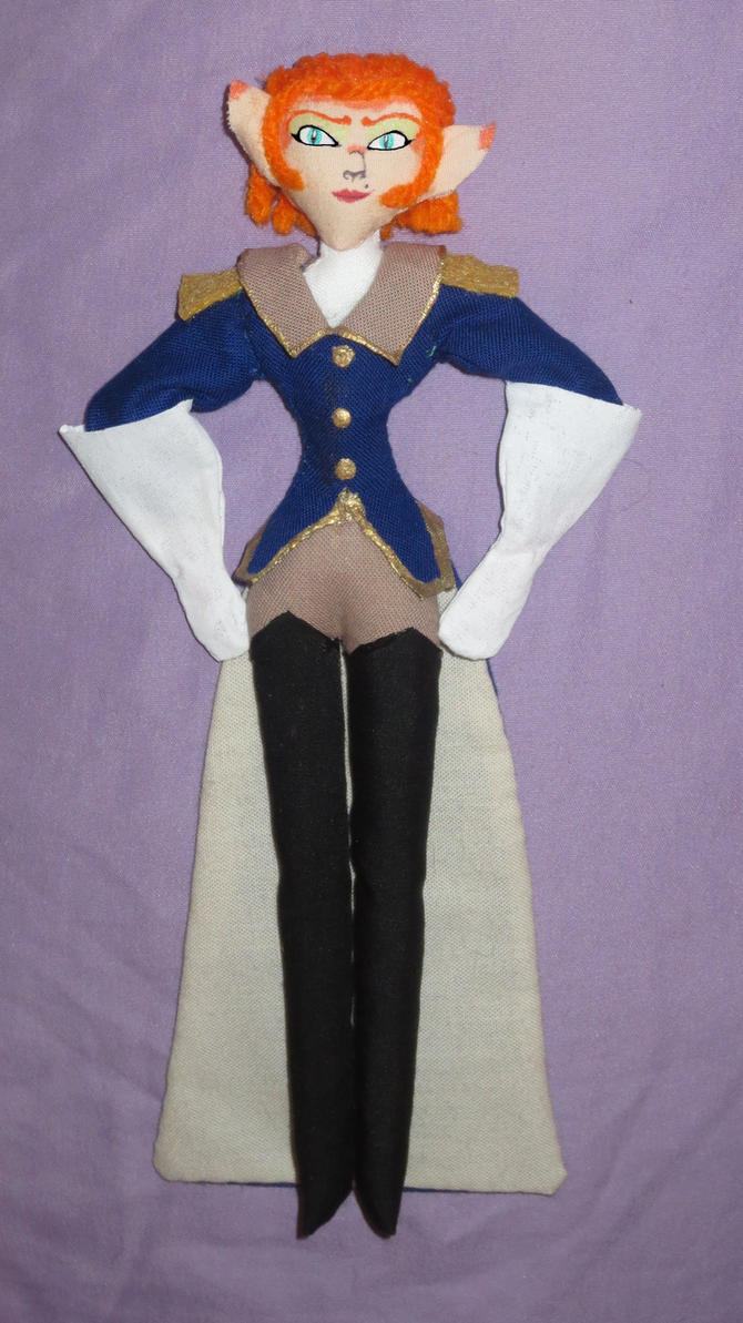 Captain Amelia Doll by Sner2000
