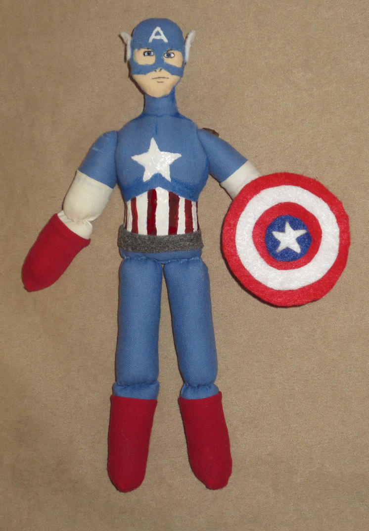 Captain America Doll by Sner2000
