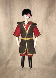 Zuko Doll by Sner2000