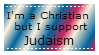 I'm a Christian but I support Judaism by KururuRyu