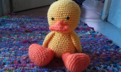 Crochet pato grande/big duck