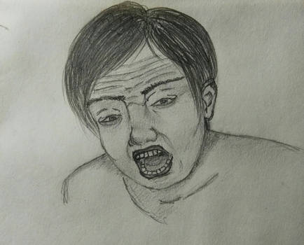 Enojo / (Sketch) / Angry face.