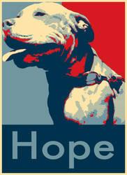 Hope Dog by BrandonWolbers