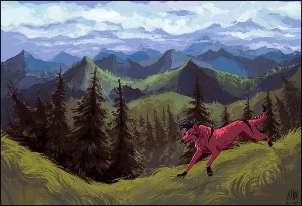 Landscape by Aurru
