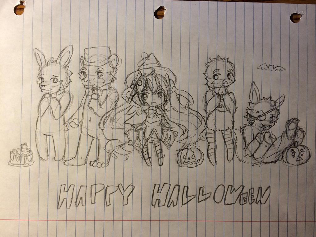 Happy Halloween!!! by MiyukiAya202