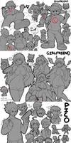 FNF: BF, GF, and Pico