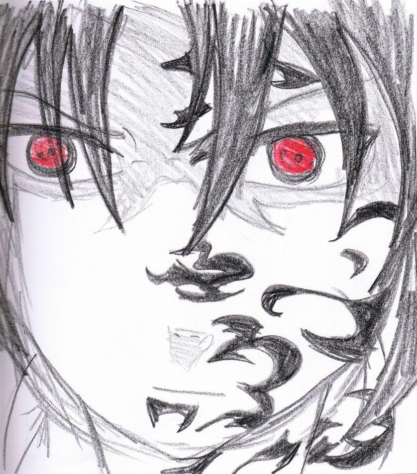 Naruto And Sasuke Drawing
