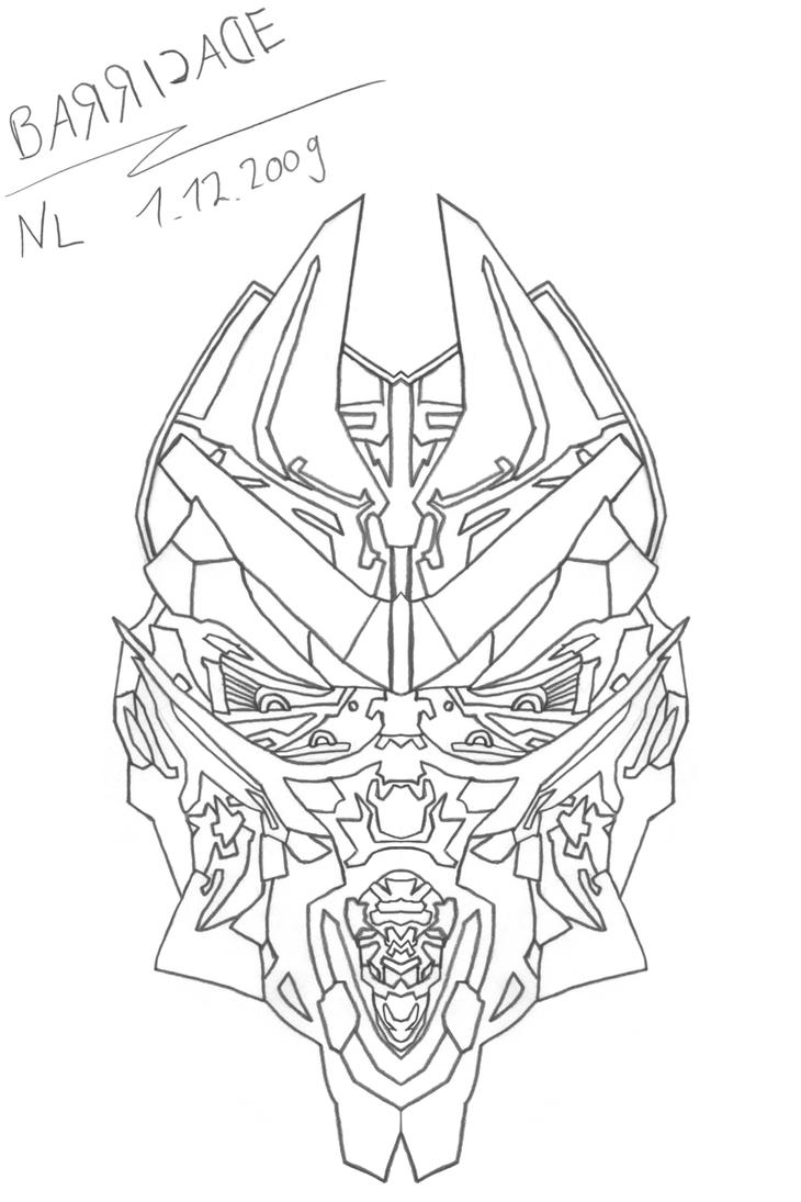 Ironhide Coloring Pages