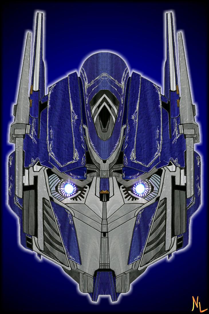 Optimus Prime -Head Colo- by Rumblebee88 on DeviantArt  Optimus Prime -...