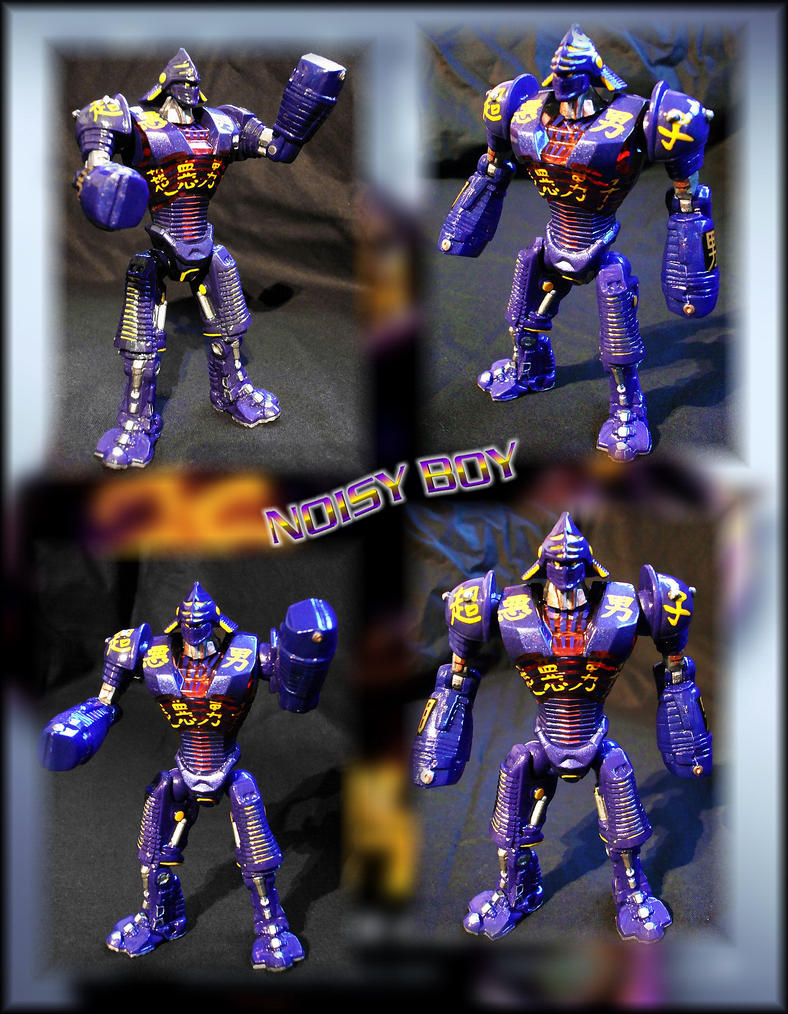 -Noisy Boy- Real Steel, Repaint by Rumblebee88 on DeviantArt