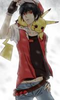 Ash : pikachu by Stelladoll