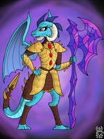 Dragon Lord, Ember by SteelSparkMLP