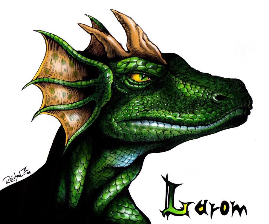Larom Greenscale by ReptileCynrik