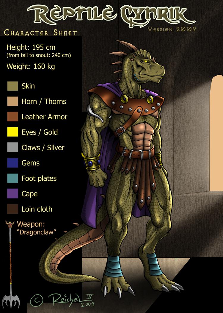 Reptile Cynrik 2014 by ReptileCynrik on DeviantArt