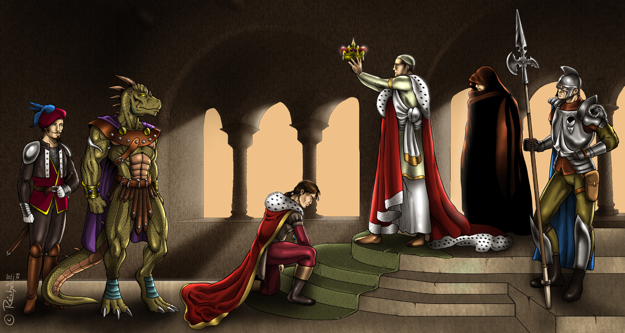 Crowning of the King by ReptileCynrik