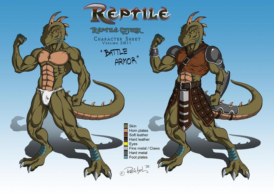Reptile Portrait 2017 — Weasyl