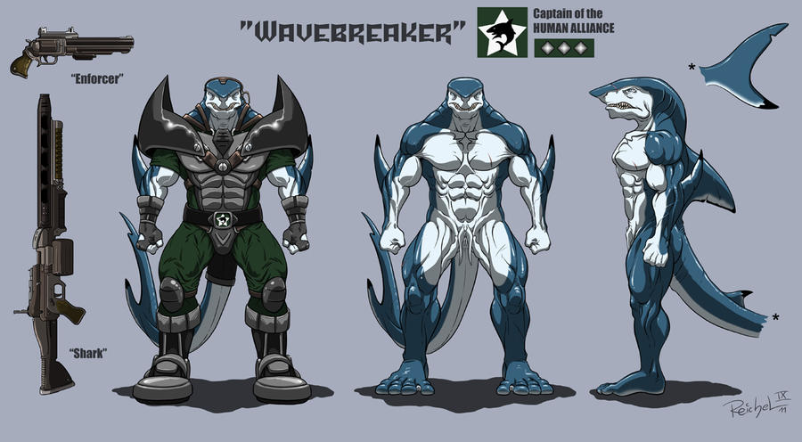 Character-Sheet: WAVEBREAKER by ReptileCynrik