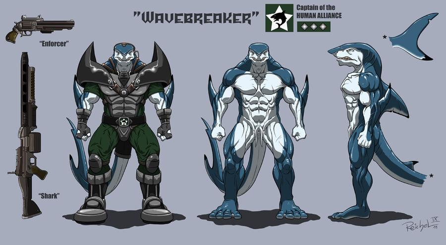 Character-Sheet: WAVEBREAKER by ReptileCynrik