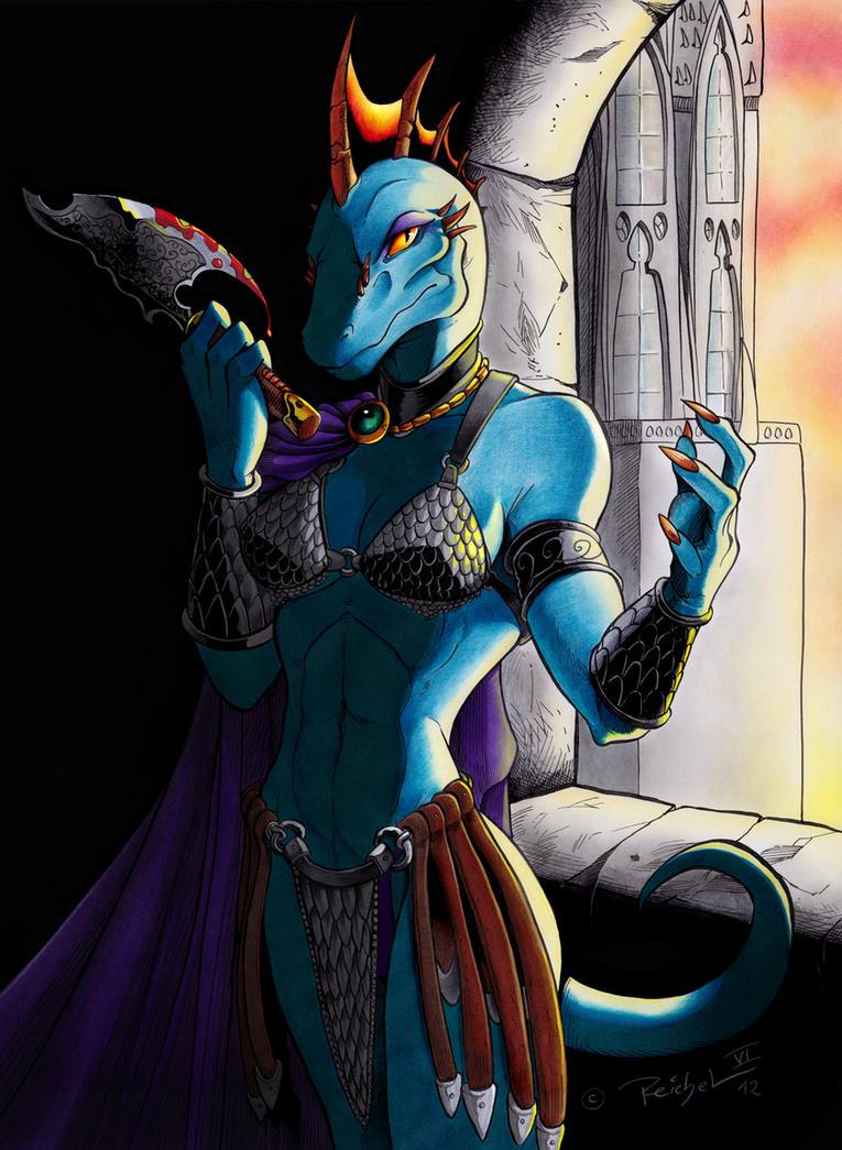 Valeris: Warrior Queen by ReptileCynrik